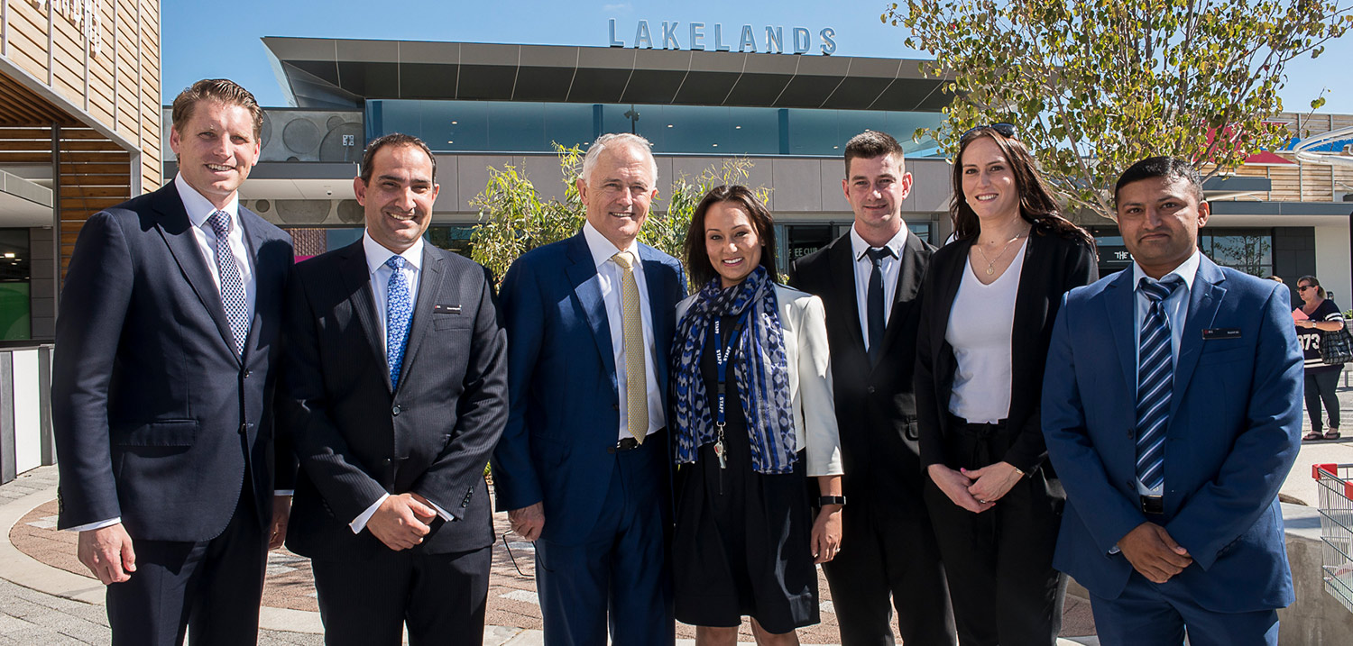 Prime Minister visits Lakelands Estate