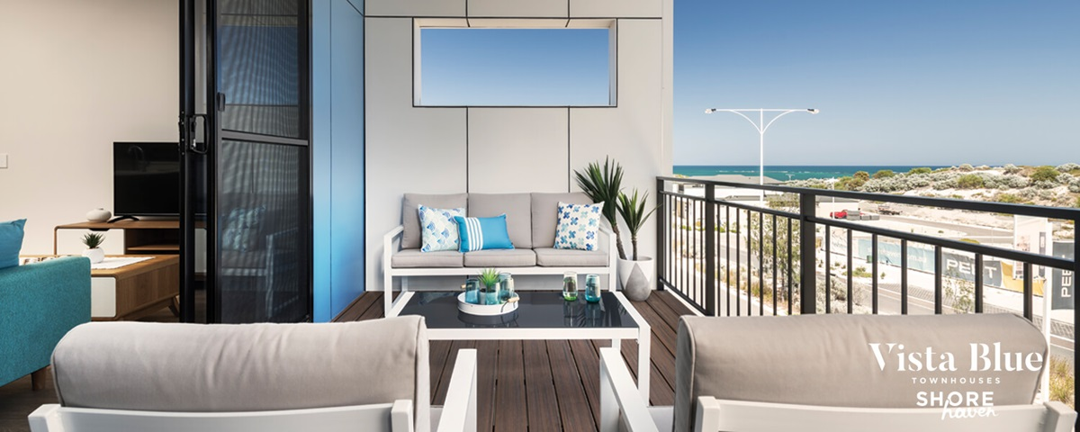 Vista Blue Townhouse Balcony