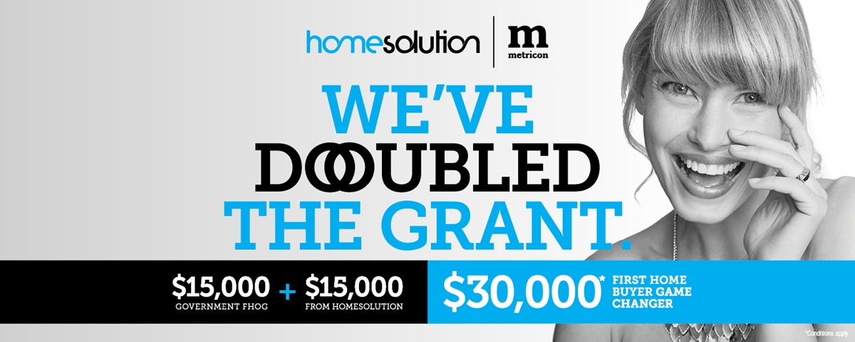 Metricon double the grant offer