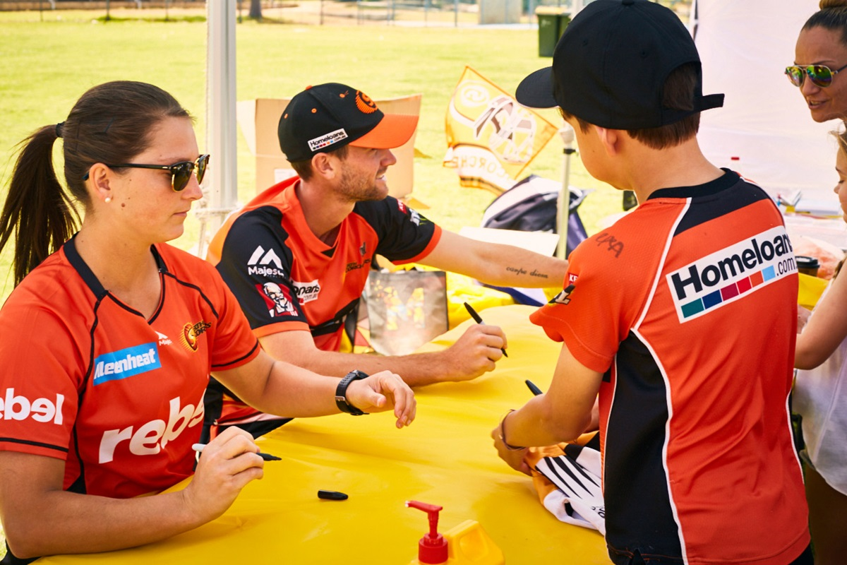 Perth scorchers movida community fan day event