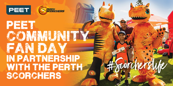 Brabham Perth Scorchers Fan Day