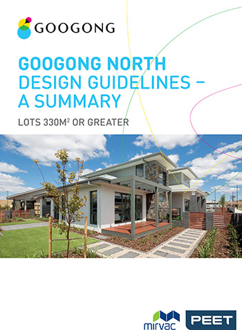 Googong North Design Guidelines Summary