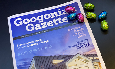 Googonian Gazette Newsletter April 2020