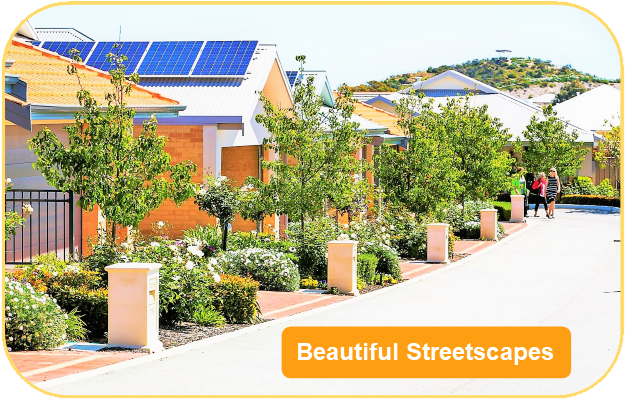 landscaping streetscape
