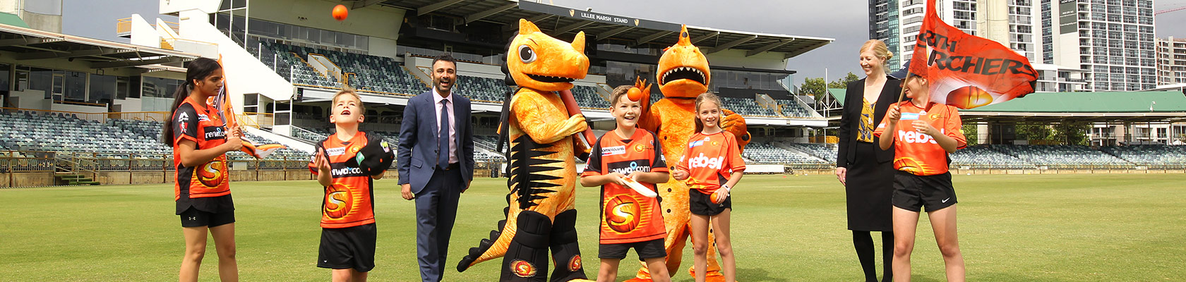 Peet - proud community partner of the Perth Scorchers