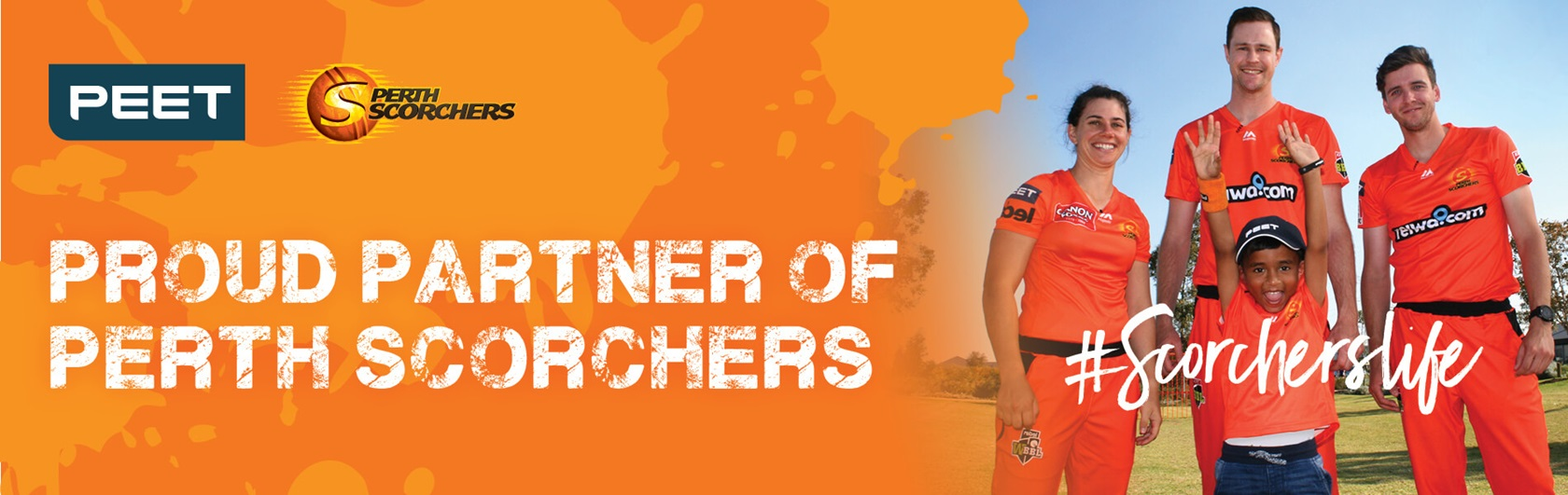 Perth Scorchers Peet Partnership