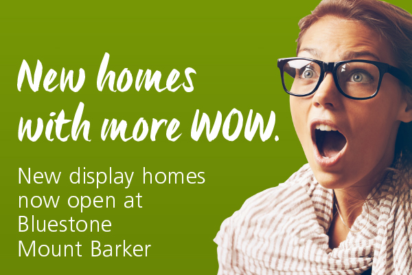 News homes at Bluestone Mount Barker