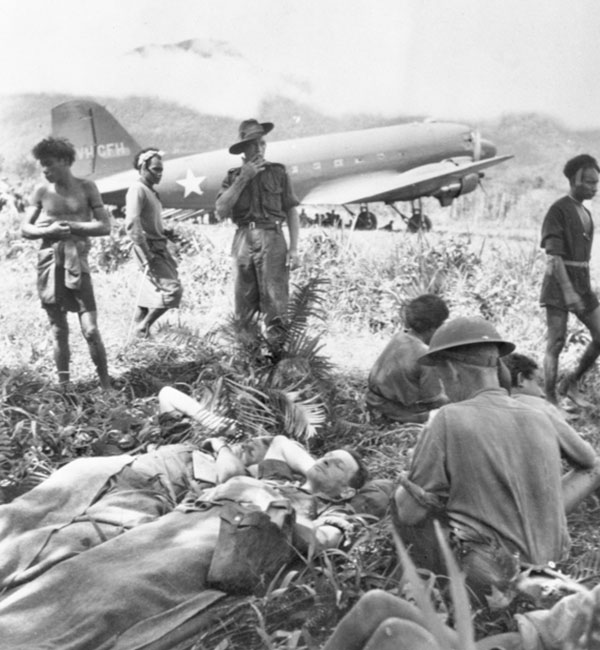 Australian Diggers on the Kokoda Track