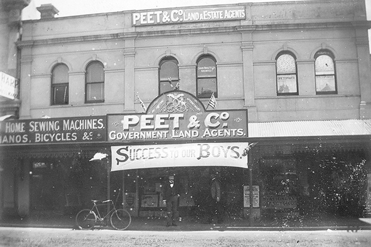 Peet and Co Office 1929
