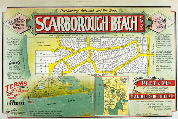 Scarborough Beach Advertisement 1960s