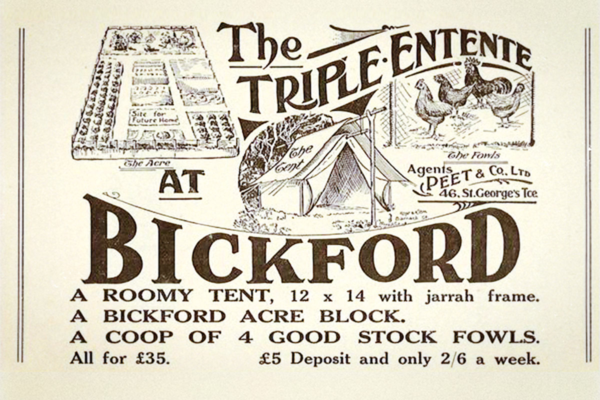 Bickford Advertisement 1914