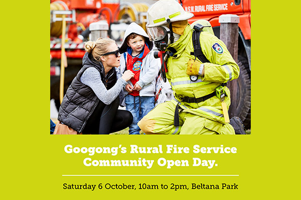 Rural Fire Service Community Open Day