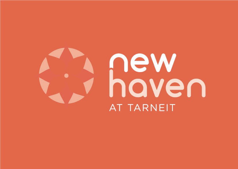 Newhaven logo on coloured background
