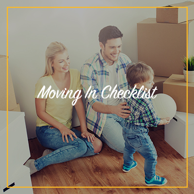 moving in checklist