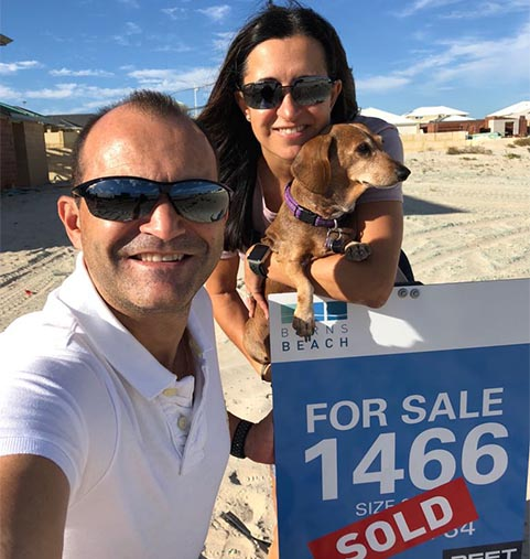 Burns Beach Testimonial Suzy and Ricky Carrico