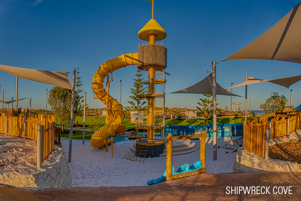Golden Bay Shipwreck Cove Now Open