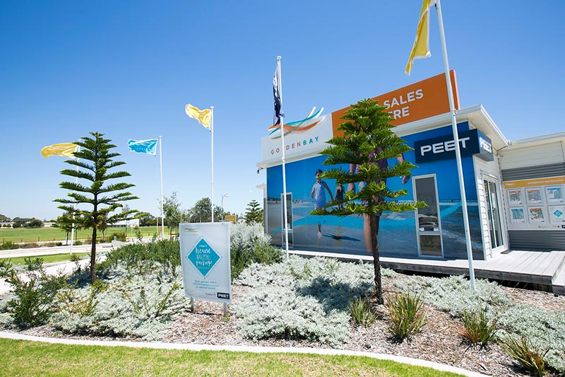 Golden Bay sales office image