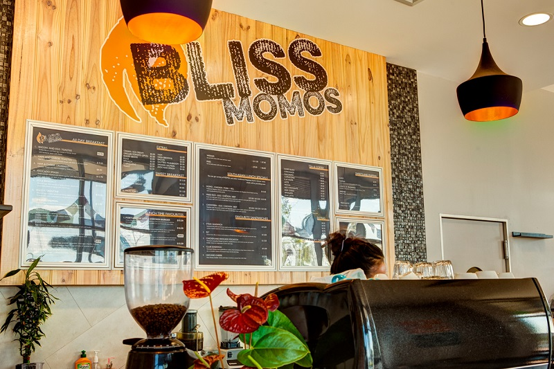 bliss momos cafe
