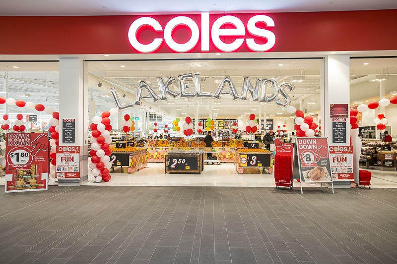 Lakelands shopping centre coles