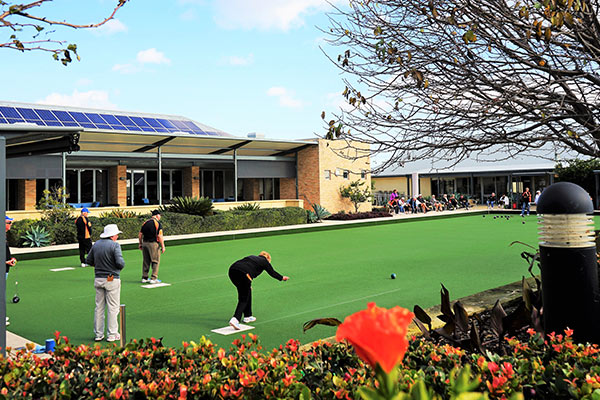 Lawn Bowls and Hobby Garden