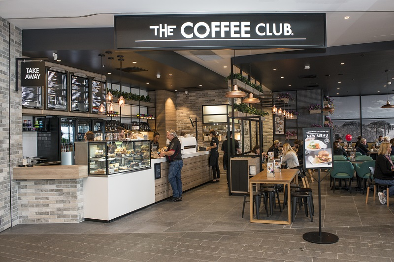 The Coffee Club at Lakelands Shopping centre