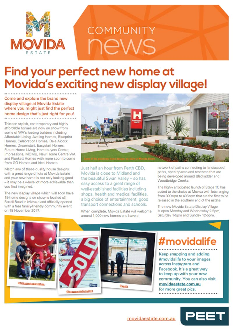 Movida Community Newsletter