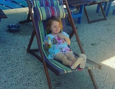 shorehaven child in deck chair