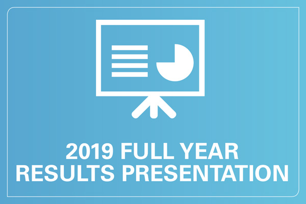 2019 Full year results presentation