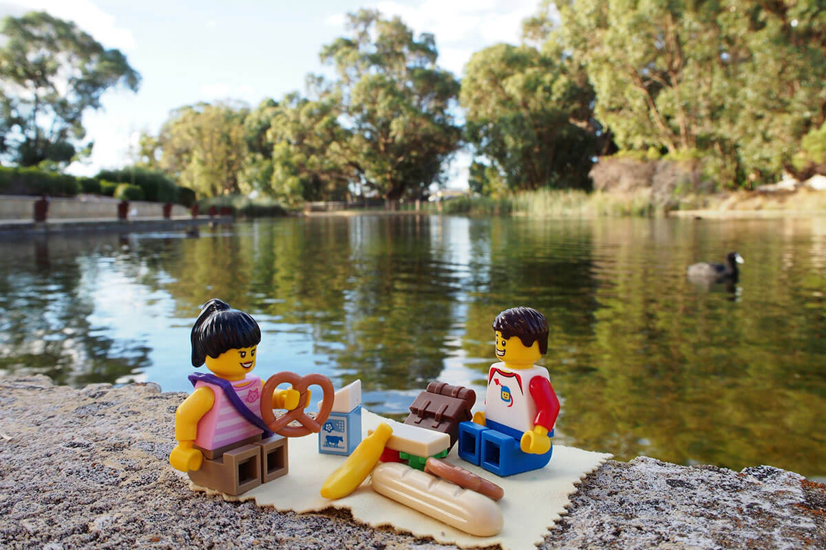 Lego Travellers at Lakelands