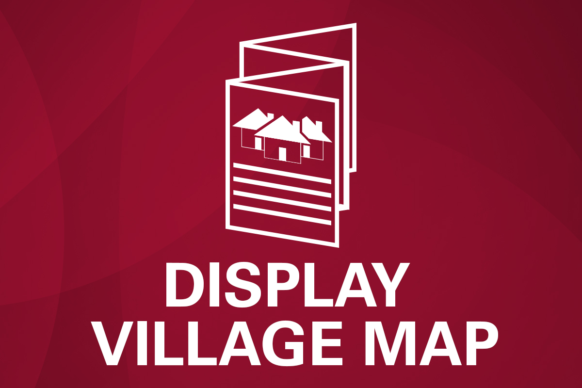 Flagstone display village map
