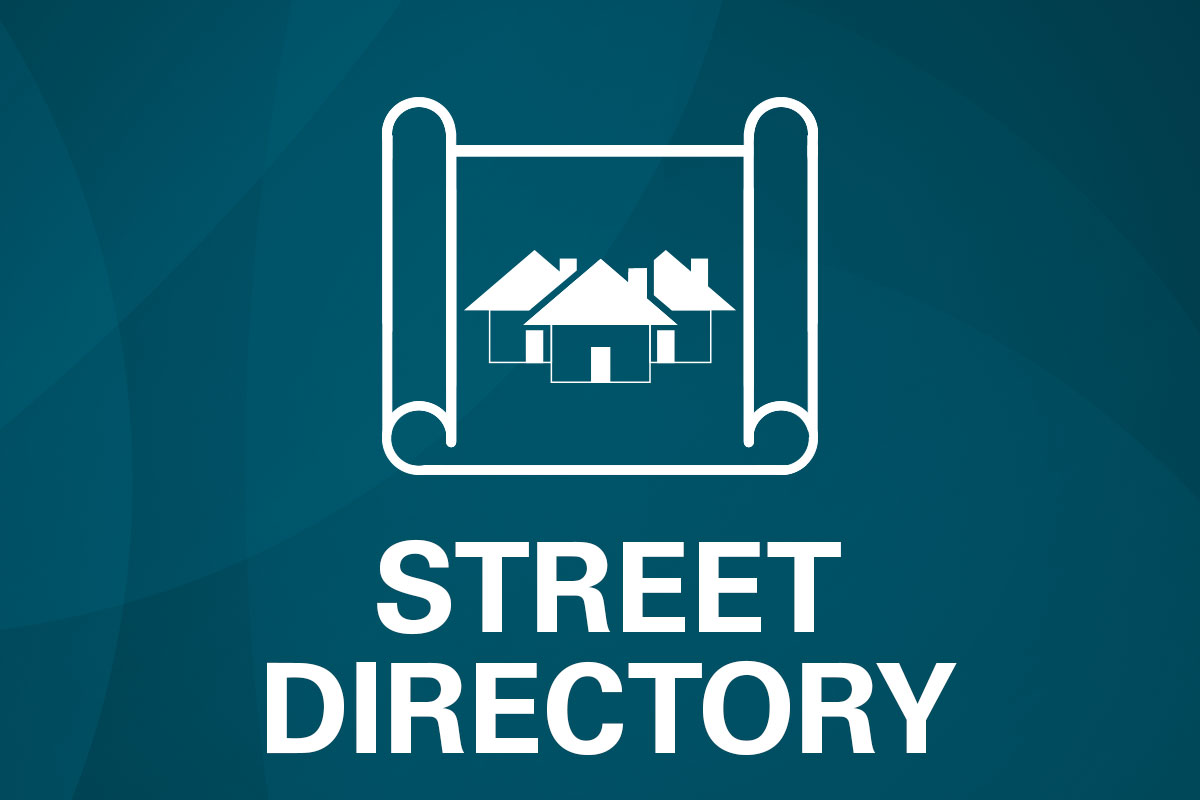 Riverbank Street Directory