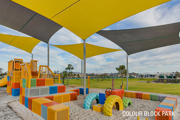 Golden Bay Colour Block Park