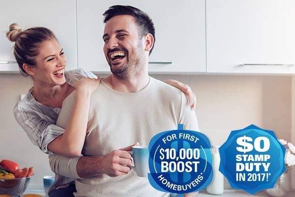 First homebuyers grant and no stamp duty
