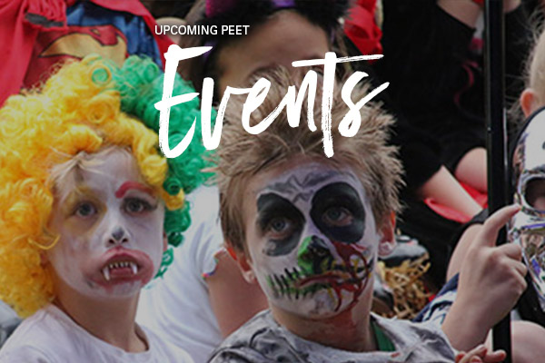 Peet events October