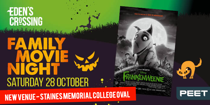 Movie Night edens crossing staines memorial college