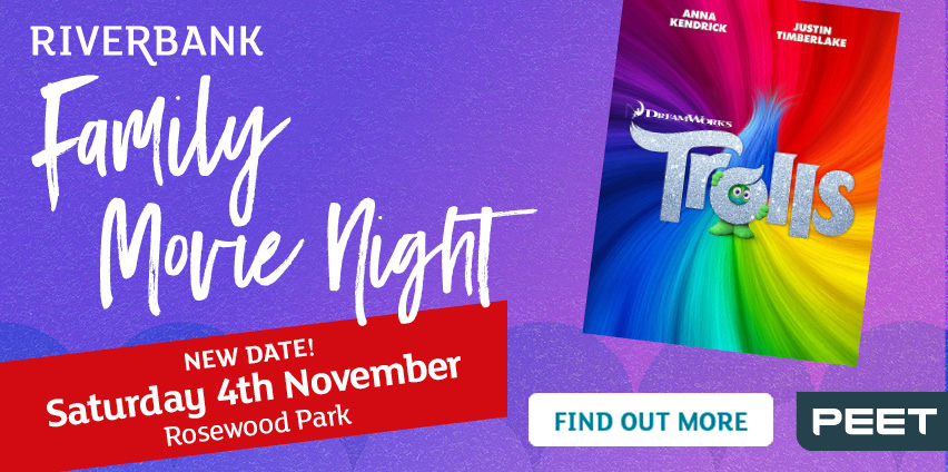 Riverbank Movie night 4th november