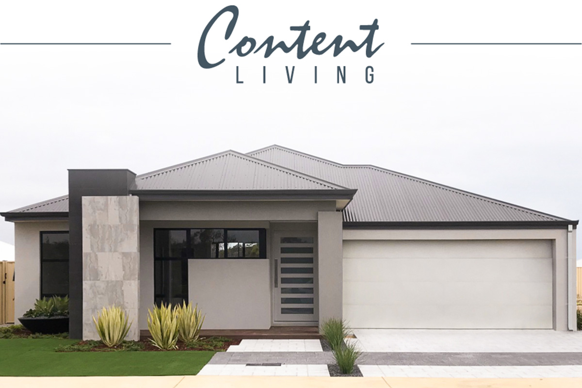Burns Beach Content Living Display Home