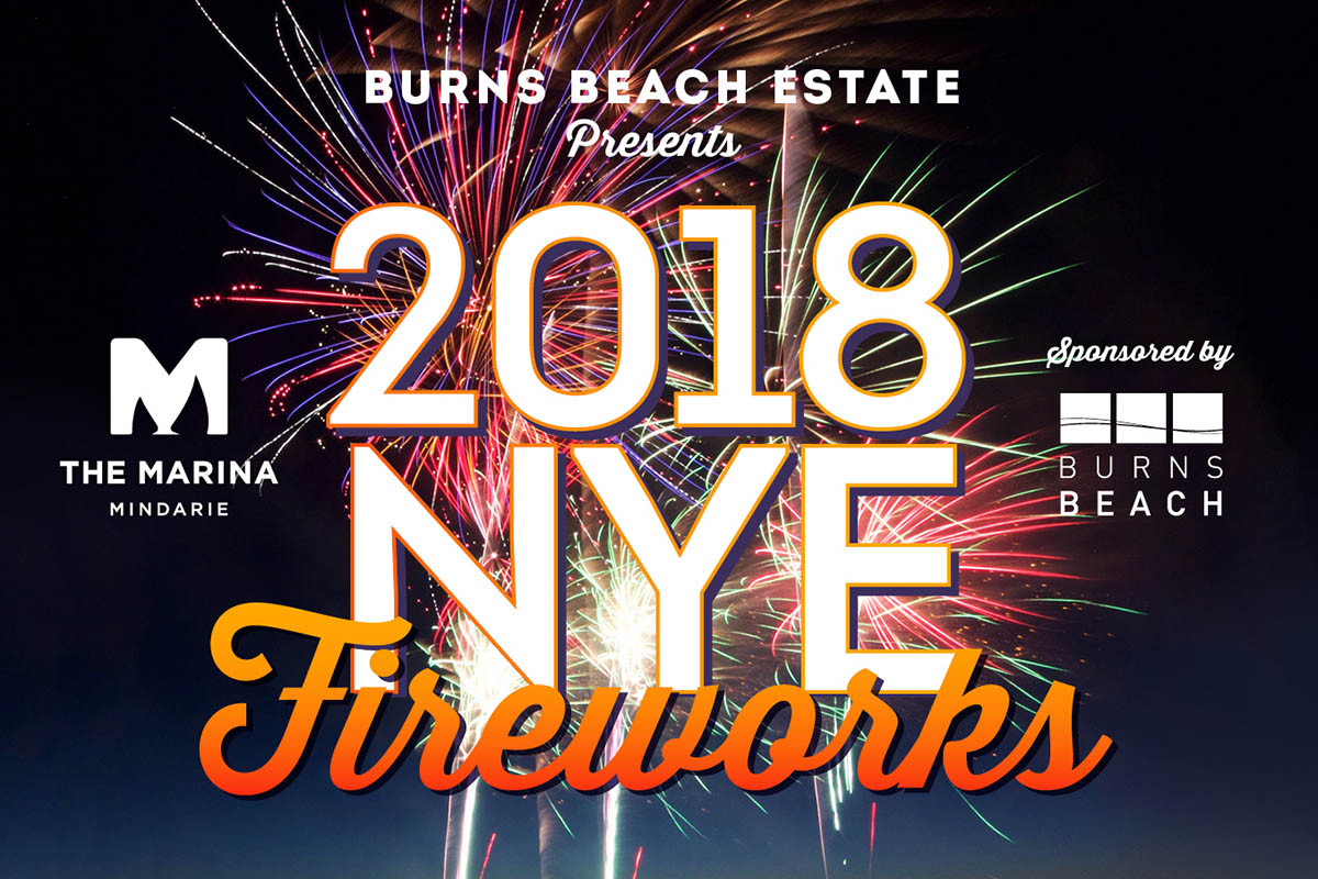 Burns Beach Mindarie Marina Fireworks 2018