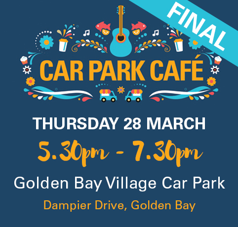 golden bay car park cafe