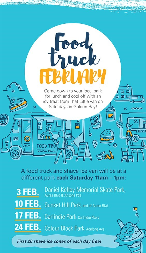 Golden Bay Food Truck February