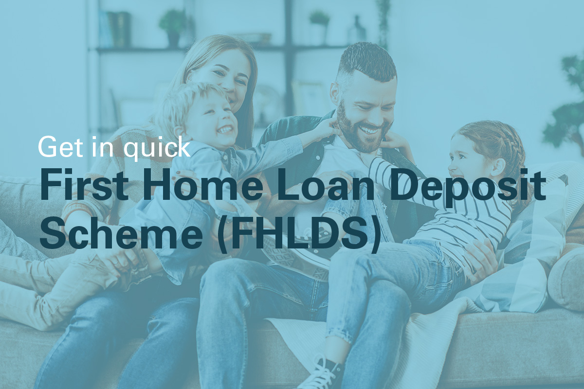 First home loan deposit scheme peet communities