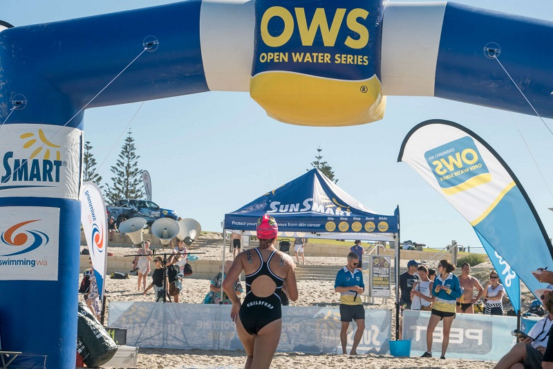 Open Water Swim shorehaven finish line