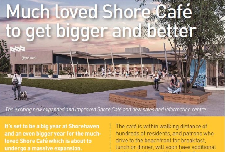 summer newsletter cut out shore cafe
