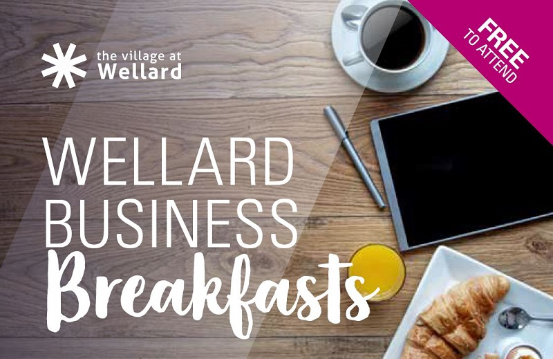 wellard business breakfast flyer